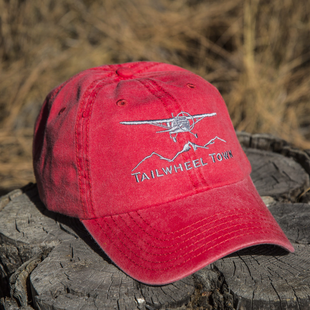 Tailwheel Town aviation ball cap